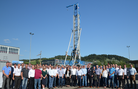 Visitors of STREICHER - Drilling Technology presentation